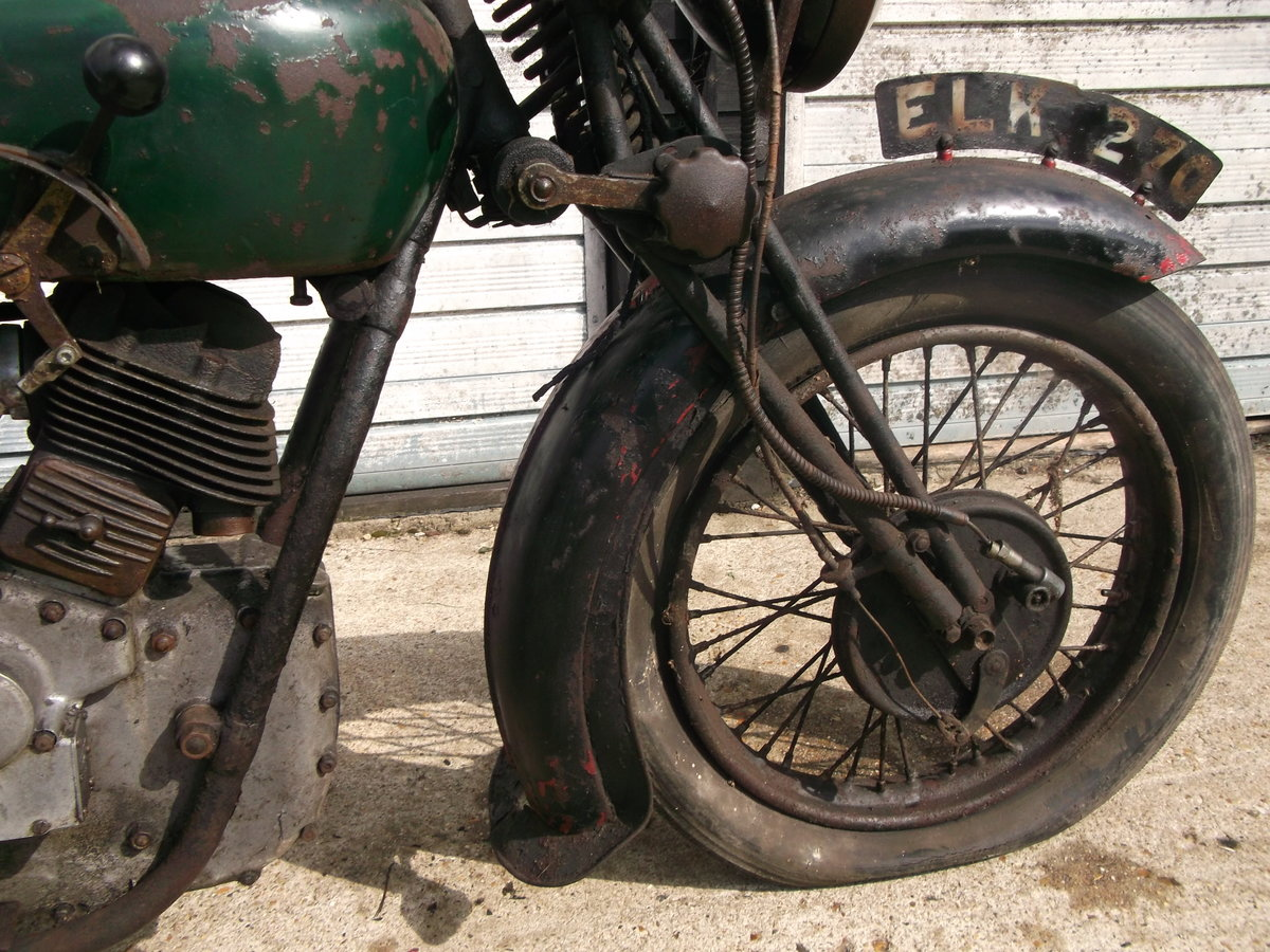 1939 Royal Enfield model K, v twin project For Sale (picture 5 of 6)