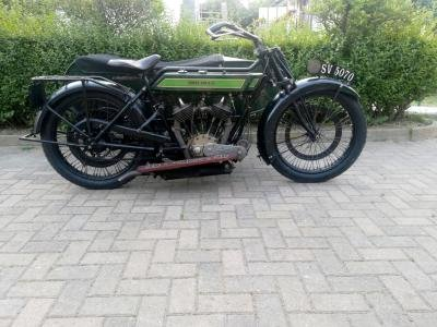 1922 Royal Enfield 8hp Combination For Sale by Auction (picture 1 of 6)