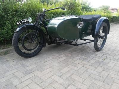 1922 Royal Enfield 8hp Combination For Sale by Auction (picture 3 of 6)