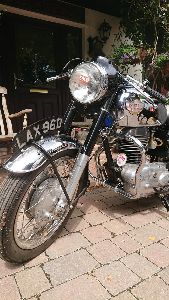 1966 Royal Enfield Crusader in superb condition For Sale (picture 3 of 4)