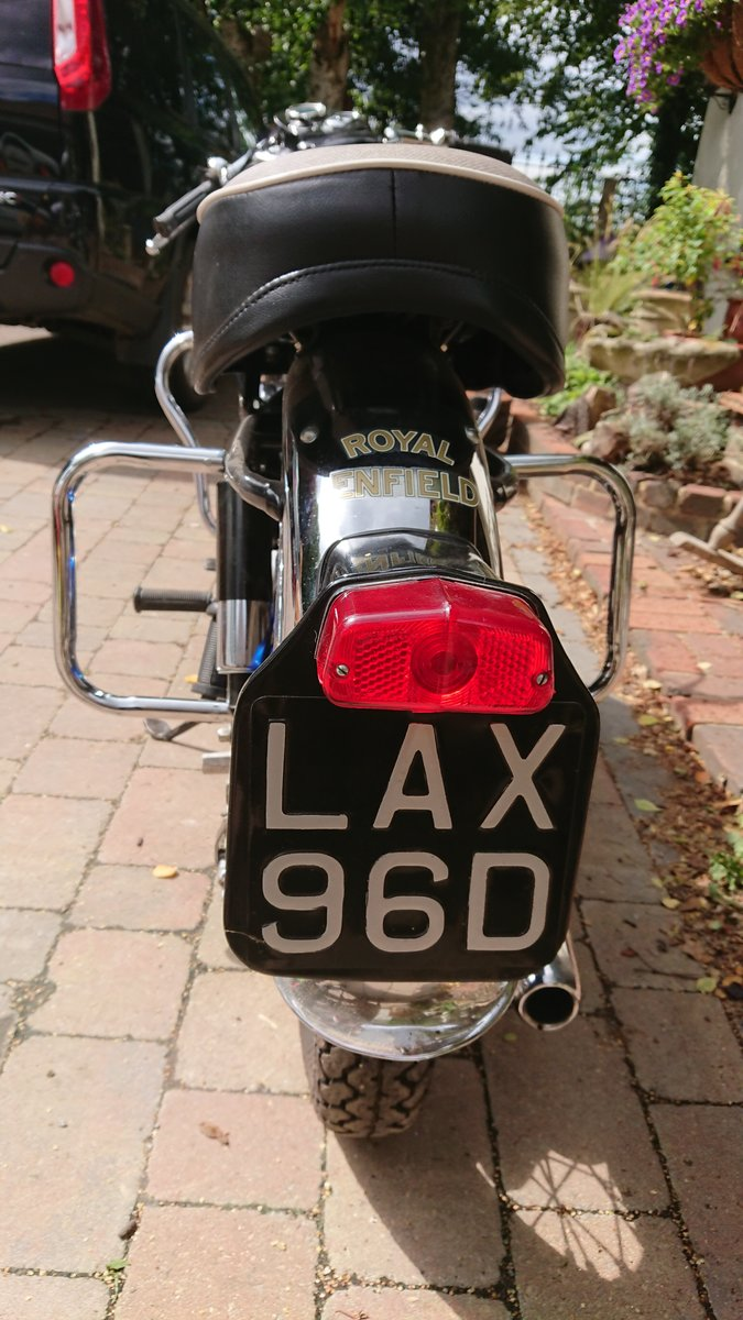 1966 Royal Enfield Crusader in superb condition For Sale (picture 4 of 4)