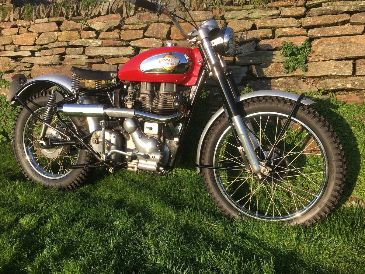 1997 Royal Enfield 500cc Bullet Trials SOLD (picture 1 of 6)