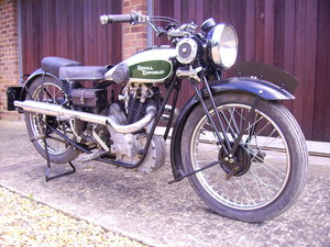 1933 Royal Enfield. Earliest Bullet