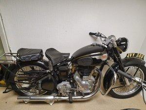 1954 Royal Enfield Model G, 350cc.