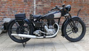 1934 Royal Enfield Model B, 249 cc.  For Sale by Auction