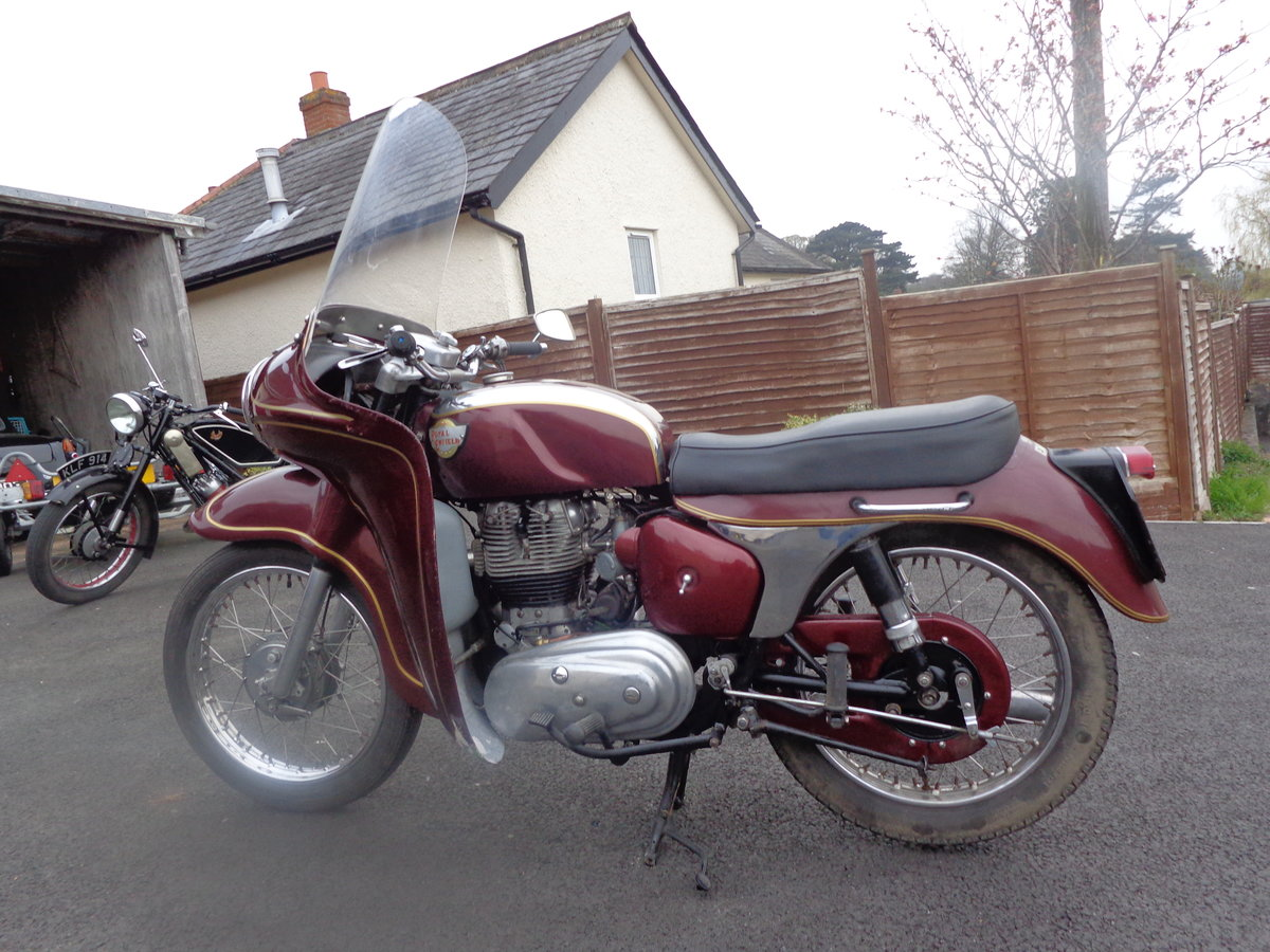 1961 Royal Enfield Constellation Airflow For Sale (picture 3 of 5)