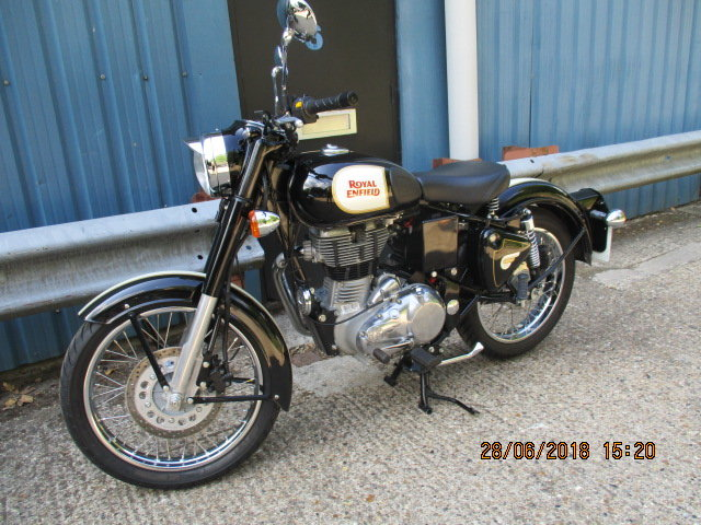 Royal Enfield Custom 500 2016 SOLD (picture 1 of 5)