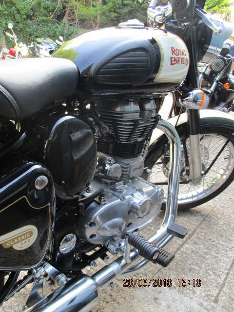 Royal Enfield Custom 500 2016 SOLD (picture 2 of 5)