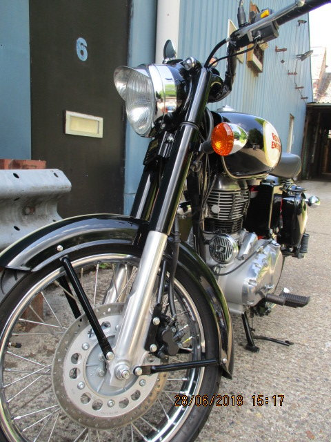 Royal Enfield Custom 500 2016 SOLD (picture 4 of 5)