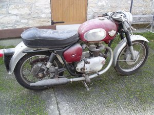 1959 Royal Enfield 250 Crusader Sport  barn find