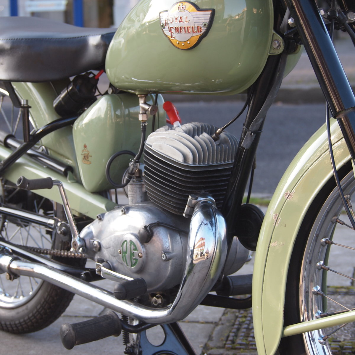 1956 Royal Enfield Ensign 150cc Two Stroke Single.  SOLD (picture 1 of 6)