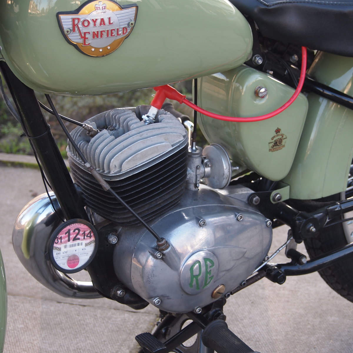 1956 Royal Enfield Ensign 150cc Two Stroke Single.  SOLD (picture 3 of 6)