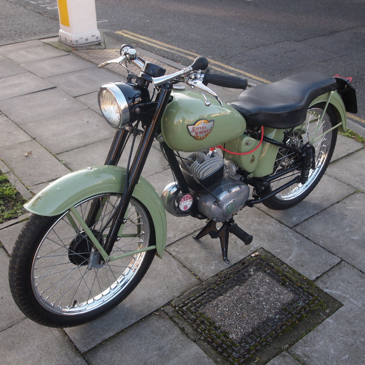 1956 Royal Enfield Ensign 150cc Two Stroke Single.  SOLD (picture 5 of 6)