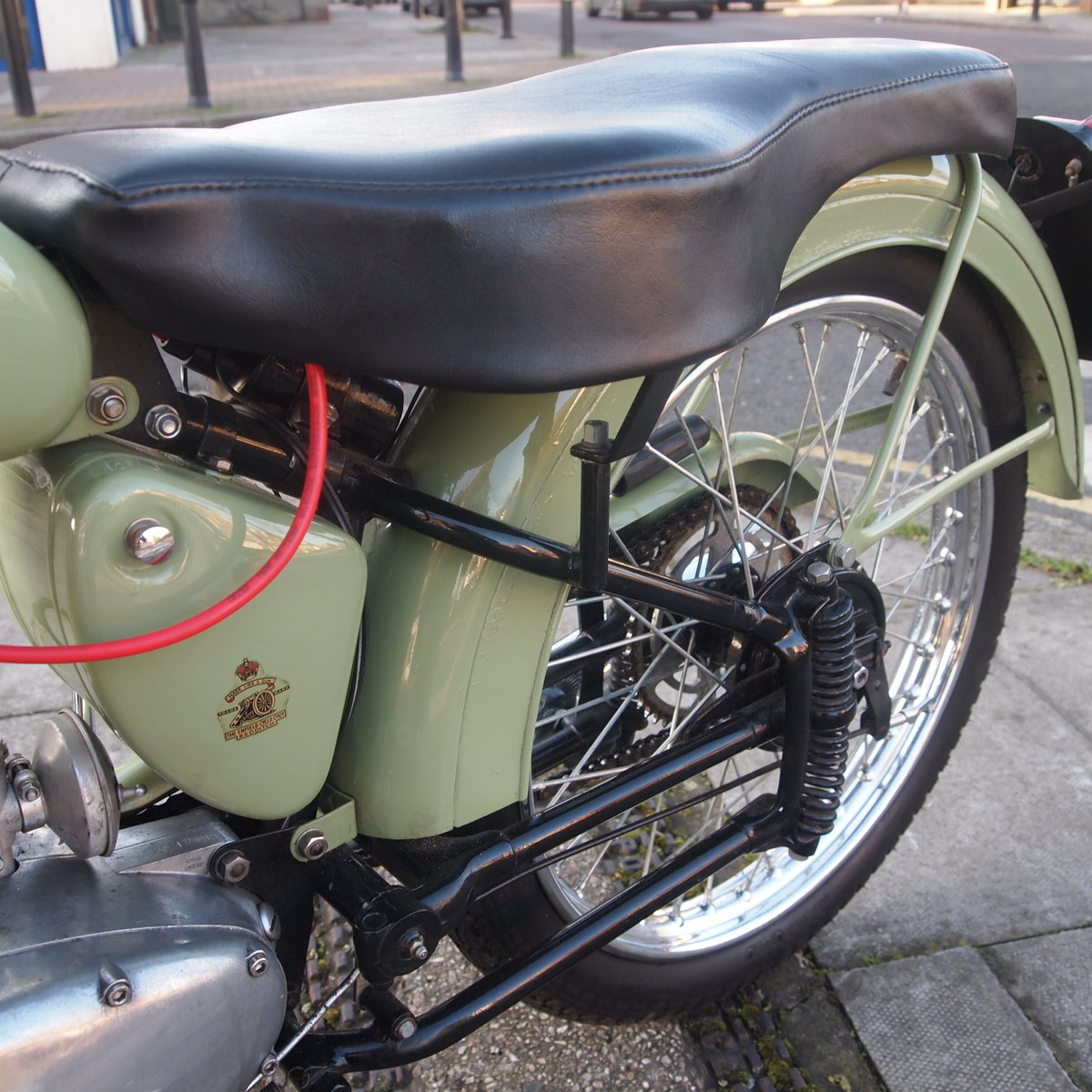 1956 Royal Enfield Ensign 150cc Two Stroke Single.  SOLD (picture 6 of 6)