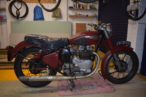 Lot 3 - A circa 1960 Royal Enfield Super Meteor combination  SOLD by Auction