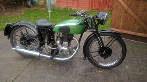 1937 Royal Enfield S2 Restored to ride. For Sale