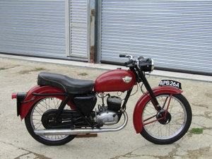 1962 Rather rare Enfield SOLD