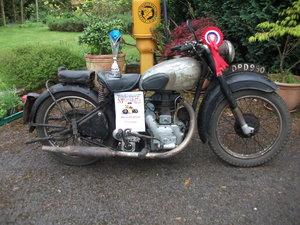 1949 Royal Enfield Model G 350cc.