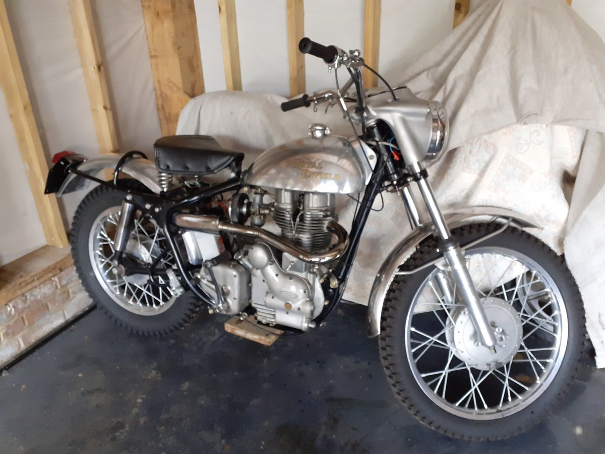 1960 Royal Enfield Bullet 350 for auction 16th - 17th July  SOLD by Auction (picture 1 of 4)