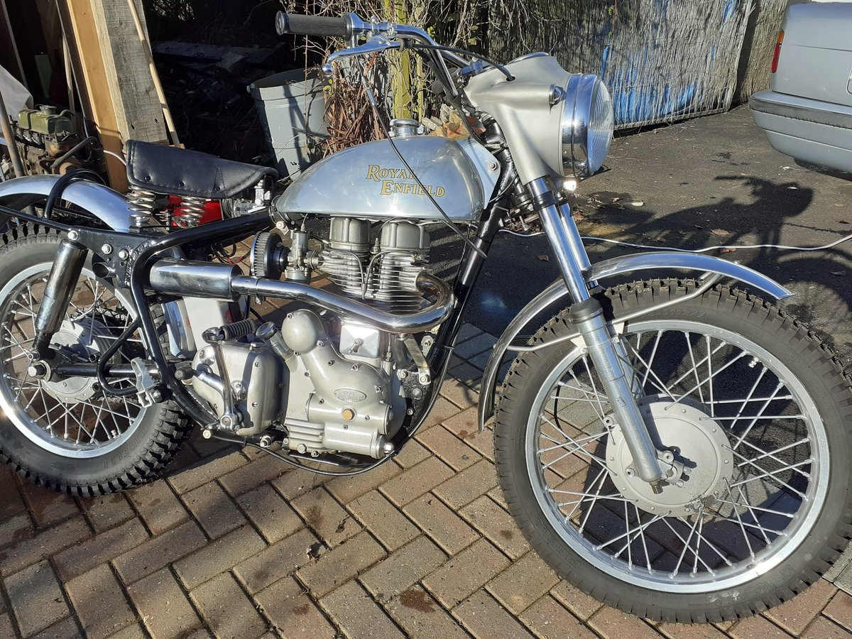 1960 Royal Enfield Bullet 350 for auction 16th - 17th July  SOLD by Auction (picture 2 of 4)