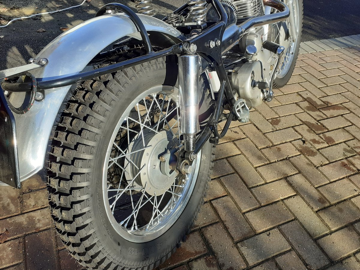 1960 Royal Enfield Bullet 350 for auction 16th - 17th July  SOLD by Auction (picture 3 of 4)