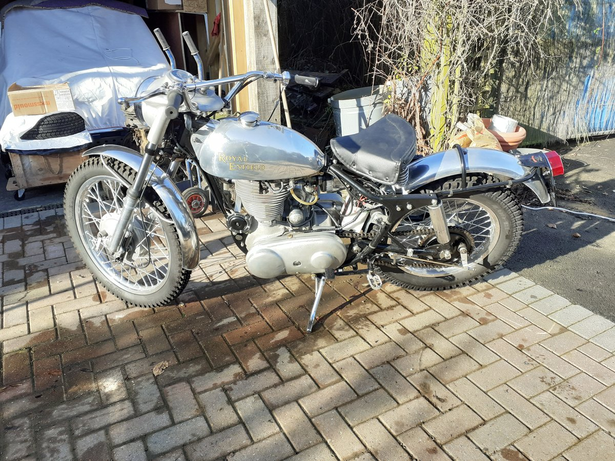 1960 Royal Enfield Bullet 350 for auction 16th - 17th July  SOLD by Auction (picture 4 of 4)