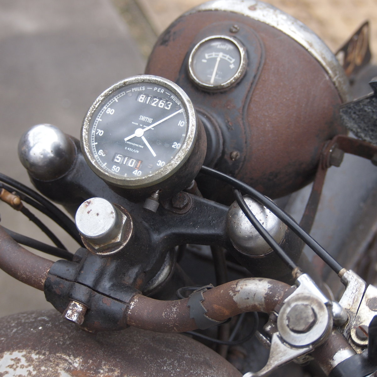 1949 Royal Enfield Model G 350cc Original & Unmolested. SOLD (picture 2 of 6)