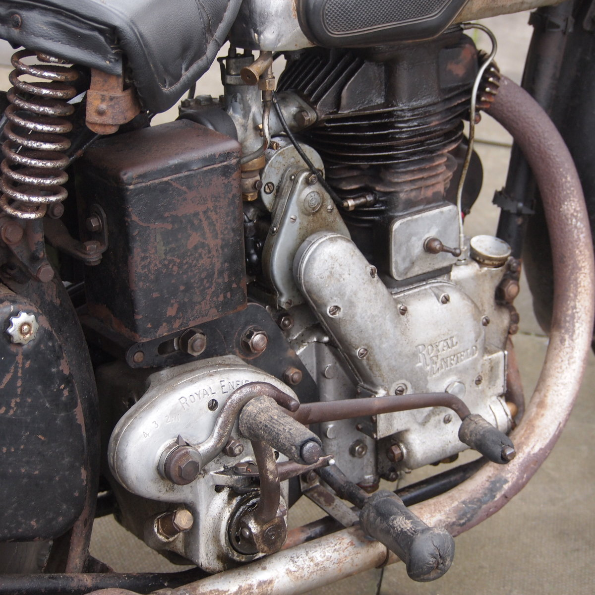 1949 Royal Enfield Model G 350cc Original & Unmolested. SOLD (picture 6 of 6)