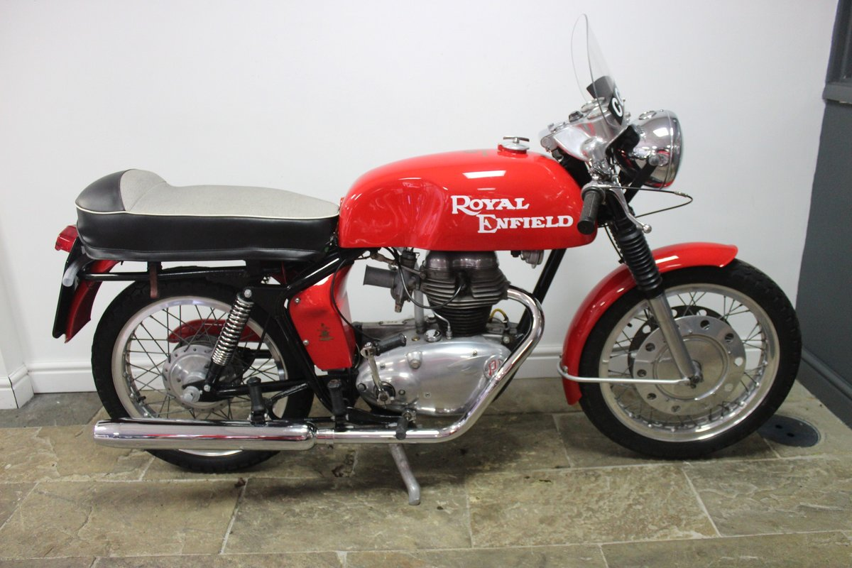 1966 Royal Enfield 250 Continental GT. Year registered 1969 SOLD (picture 1 of 6)