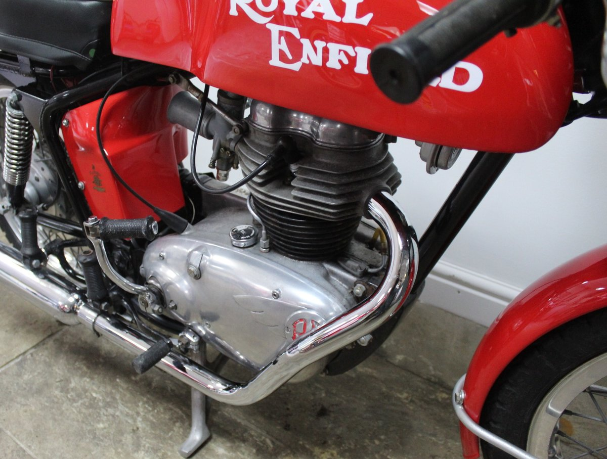 1966 Royal Enfield 250 Continental GT. Year registered 1969 SOLD (picture 4 of 6)