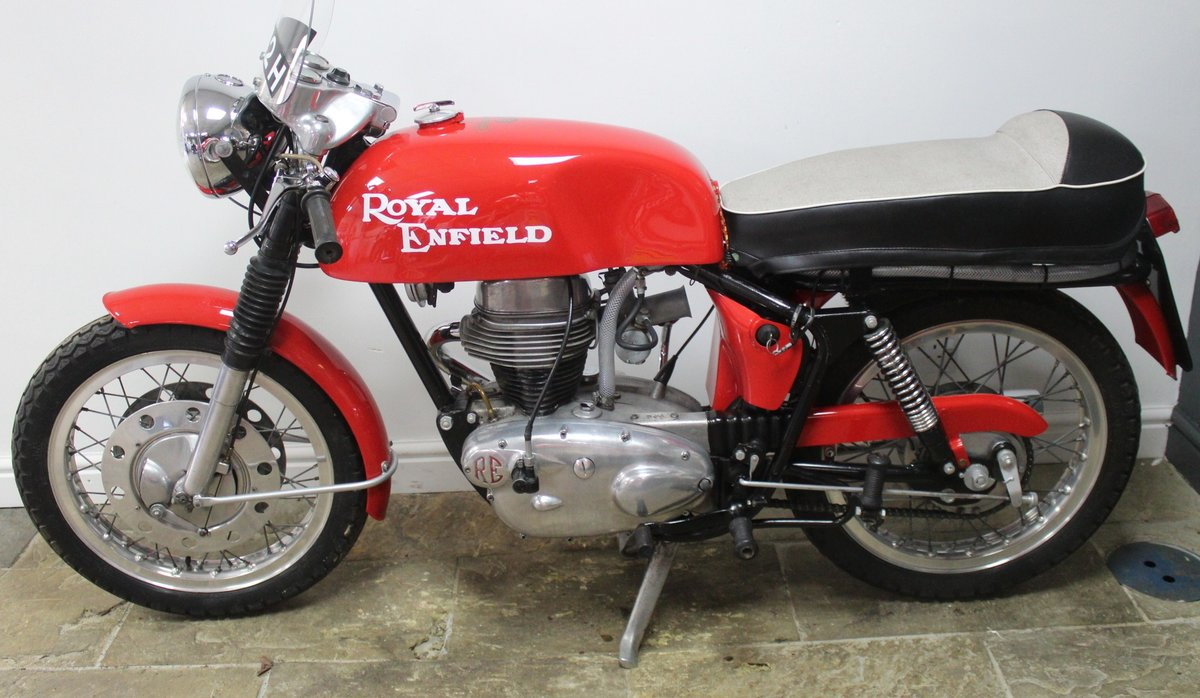 1966 Royal Enfield 250 Continental GT. Year registered 1969 SOLD (picture 5 of 6)