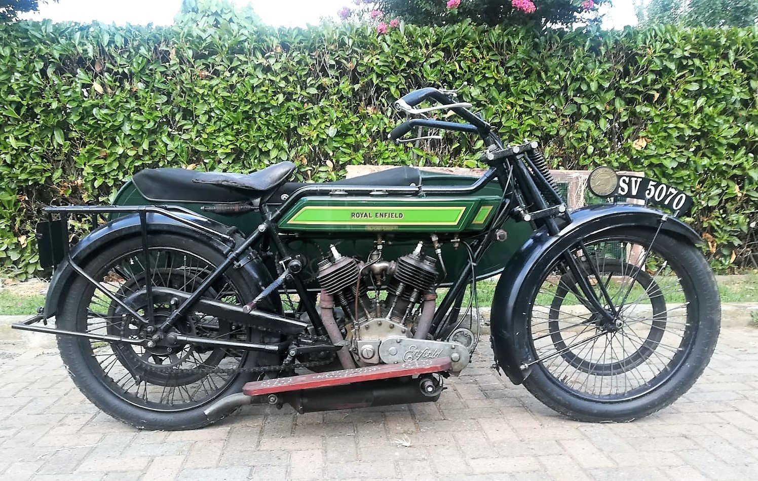1922 Royal Enfield 965cc Model 180 SOLD (picture 1 of 6)