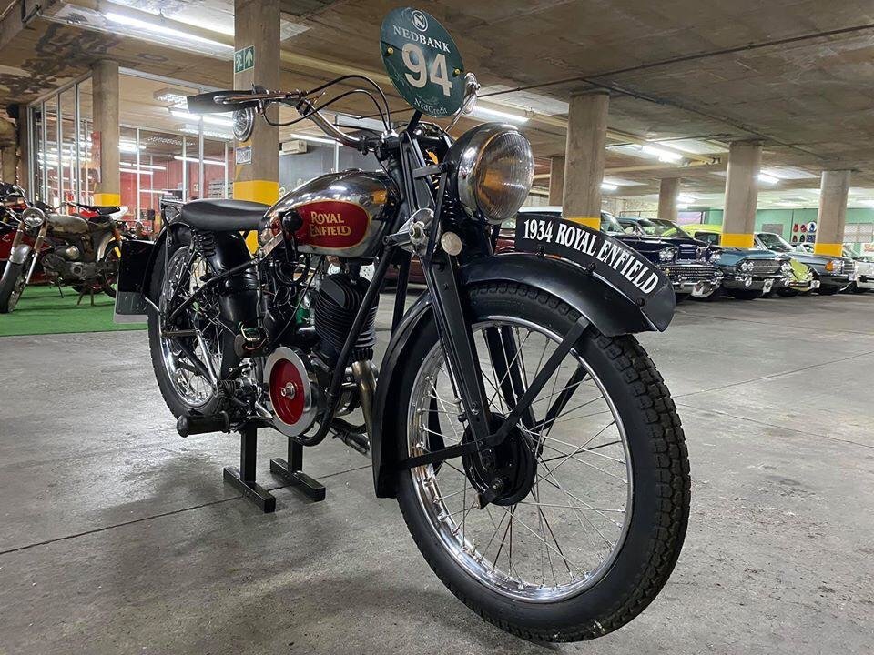 1934 Royal Enfield 225cc - Original For Sale (picture 1 of 6)