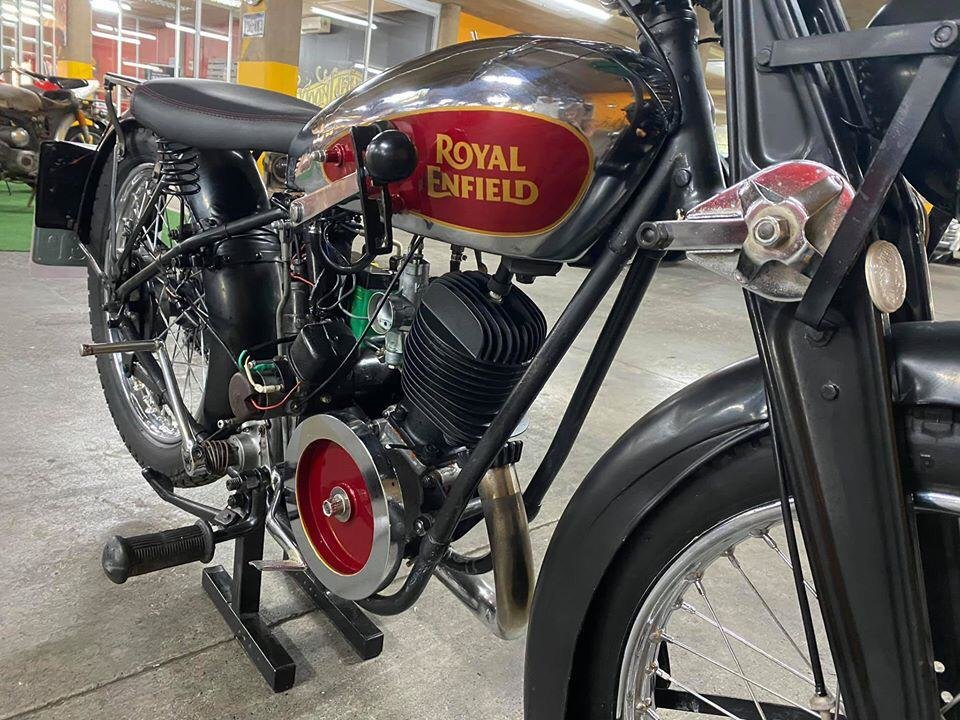 1934 Royal Enfield 225cc - Original For Sale (picture 5 of 6)