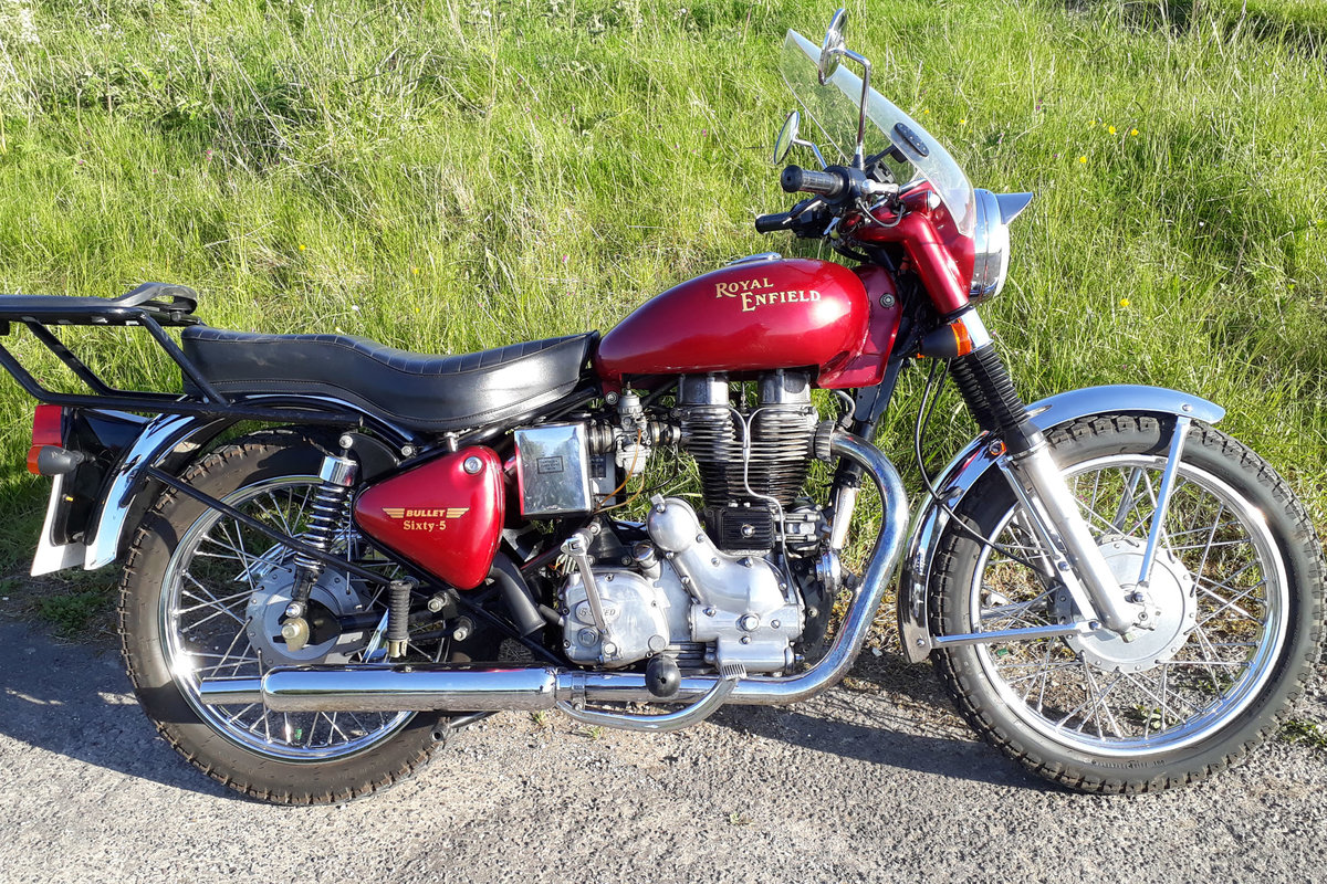 2003 Royal Enfield Bullet 500 Sixty-5, ultra-low miles SOLD (picture 4 of 6)