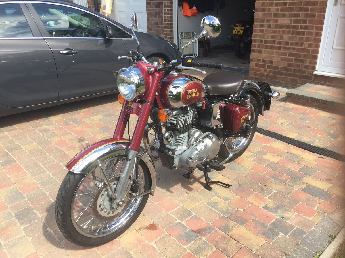 2015 Royal Enfield classic 500 efi SOLD (picture 2 of 6)
