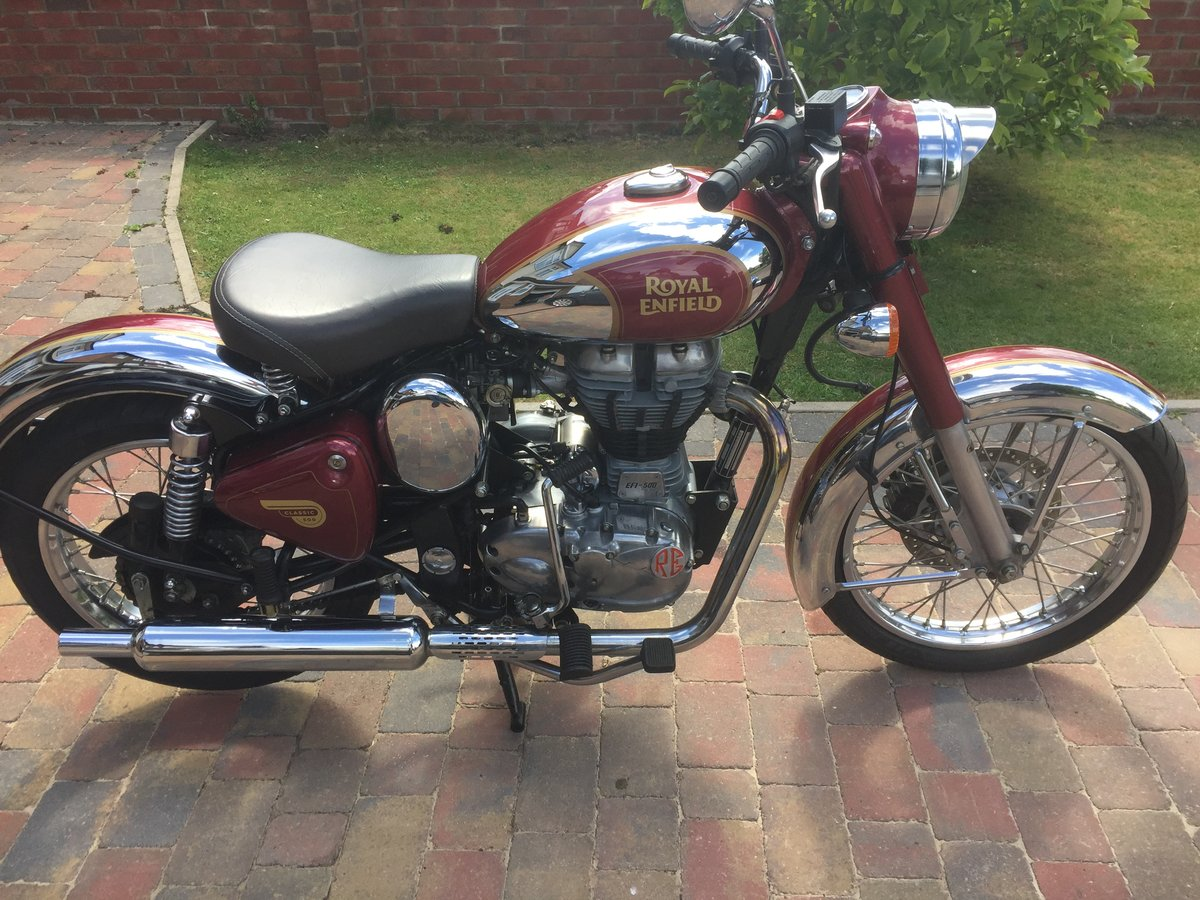 2015 Royal Enfield classic 500 efi SOLD (picture 3 of 6)