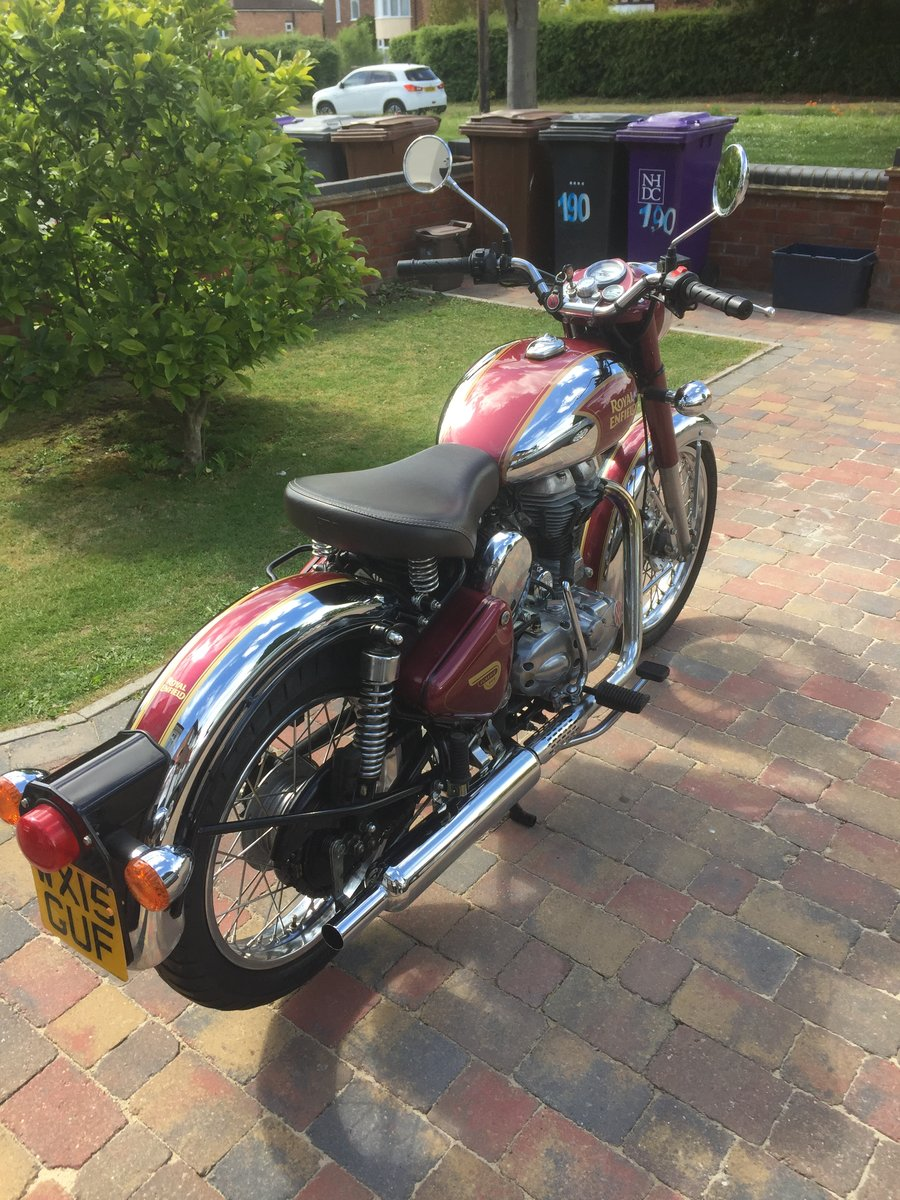 2015 Royal Enfield classic 500 efi SOLD (picture 5 of 6)