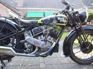 Royal Enfield V twin model K.