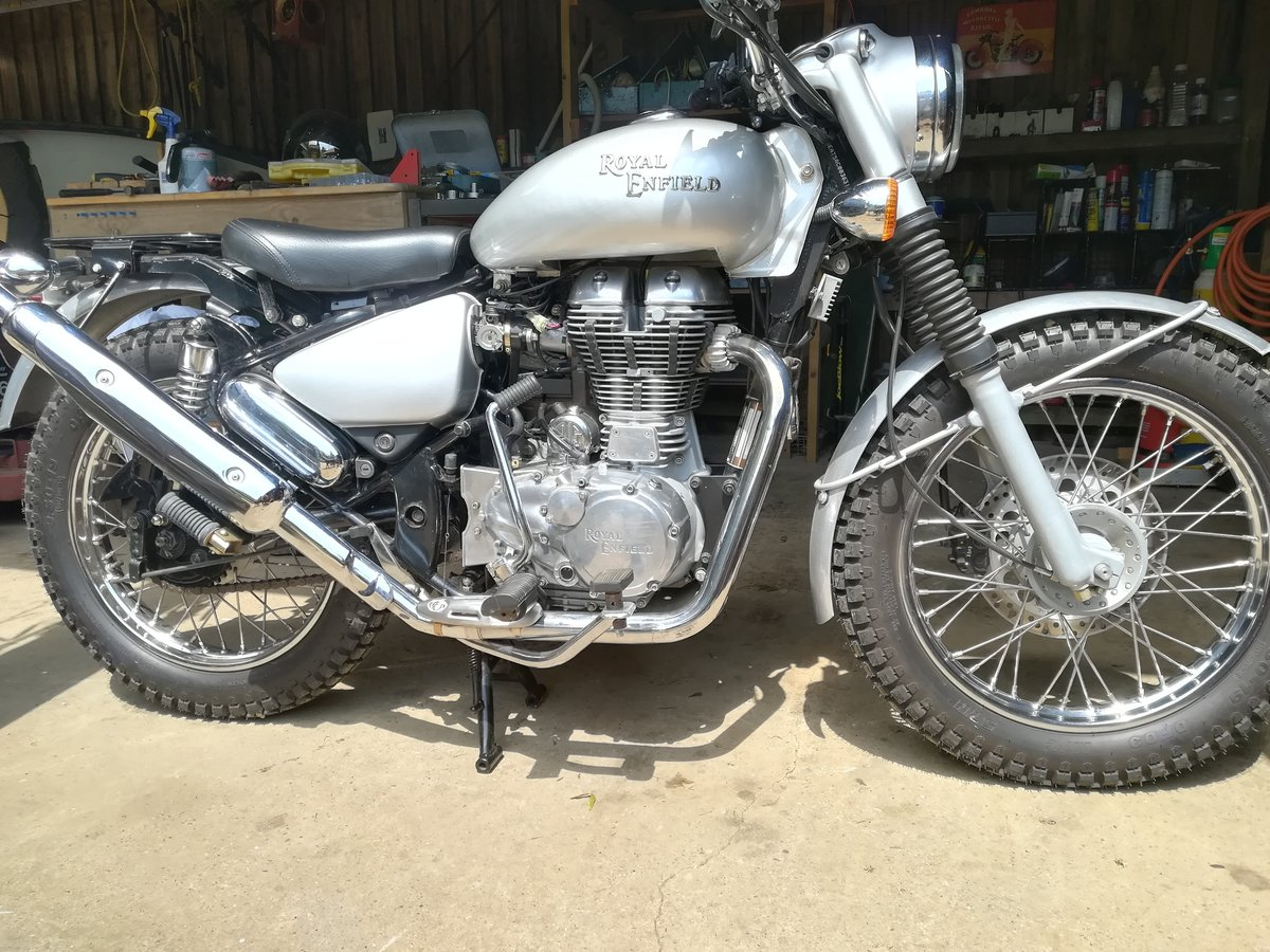 2010 Royal Enfield Trials 500 Unused and unregistered SOLD (picture 1 of 1)