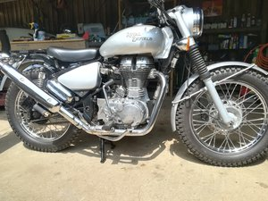 2010 Royal Enfield Trials 500 Unused and unregistered
