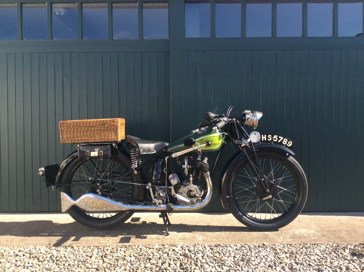1930 Royal Enfield 350cc C30 For Sale (picture 1 of 6)