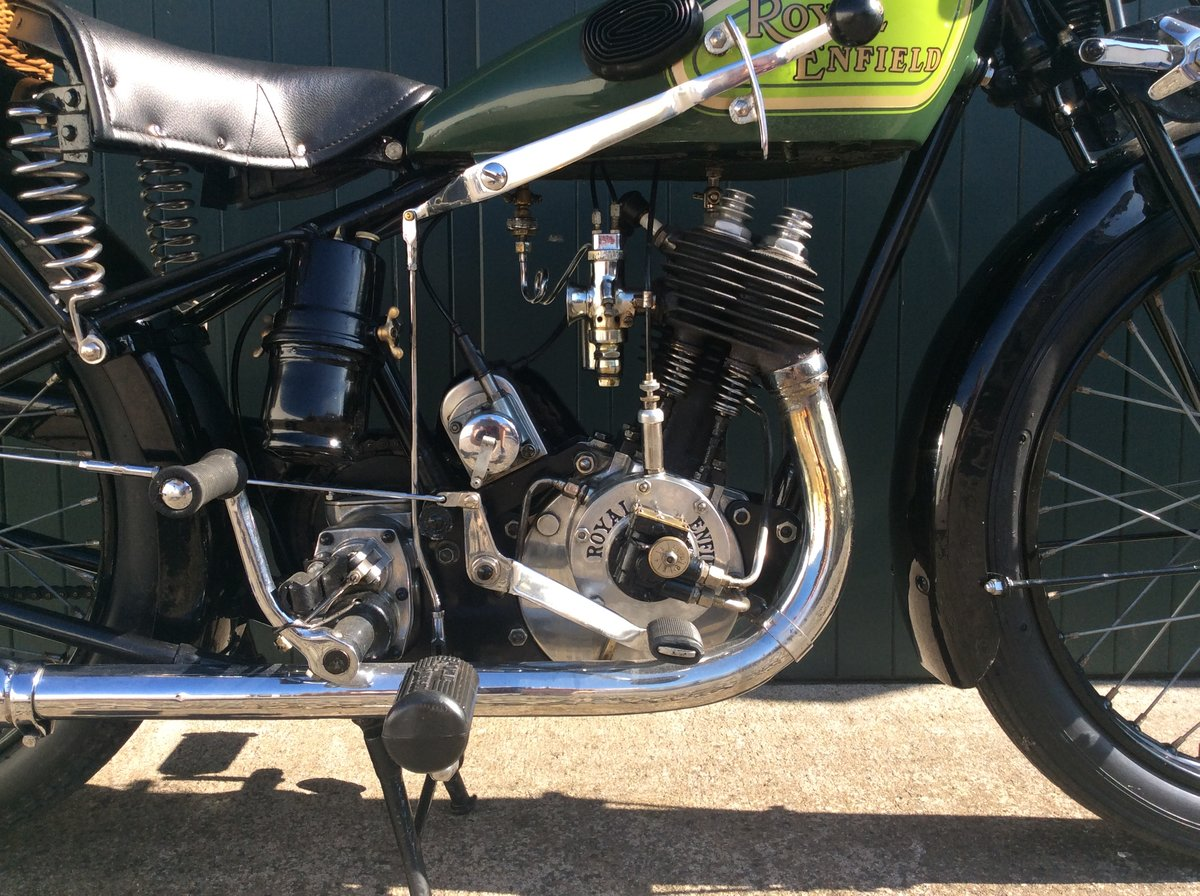 1930 Royal Enfield 350cc C30 For Sale (picture 5 of 6)