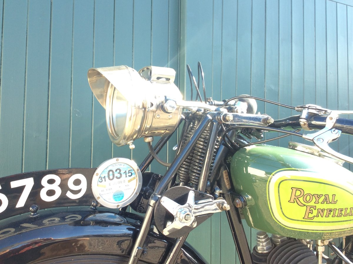 1930 Royal Enfield 350cc C30 For Sale (picture 6 of 6)
