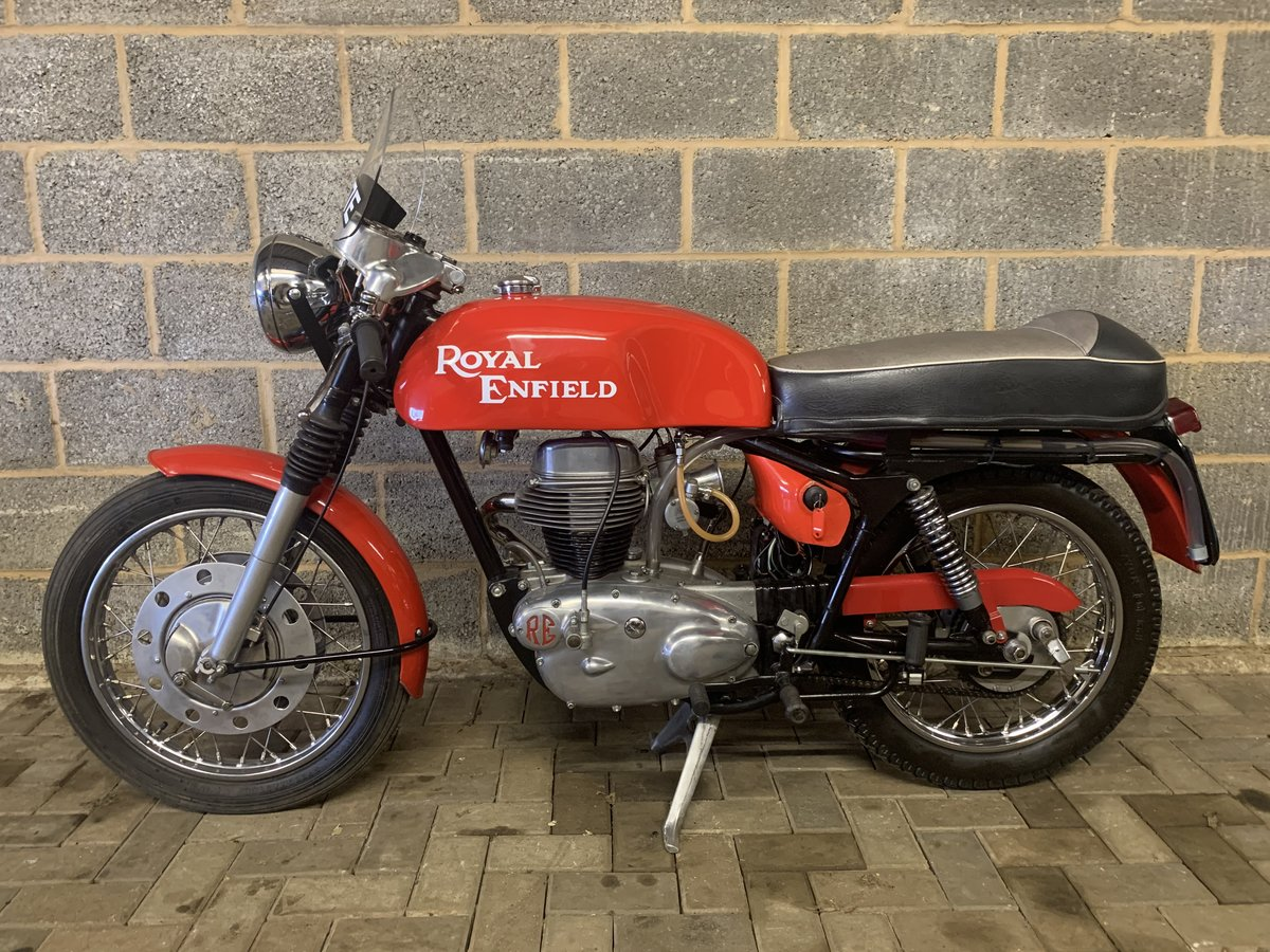 1967 Royal Enfield Continental GT 250cc SOLD (picture 1 of 6)