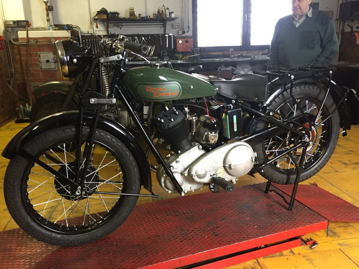 1932 Royal Enfield model HL For Sale (picture 3 of 3)