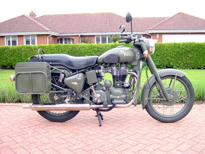 2008 Royal enfield bullet 500 army edition
