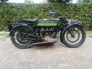 1922 Royal Enfield 8hp Model 180 Combination