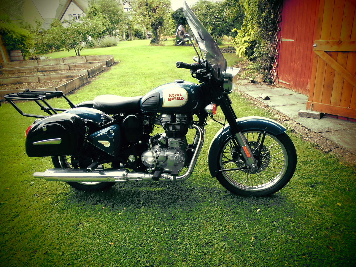 2017 Royal Enfield 500 Classic SOLD (picture 4 of 5)