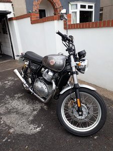 Royal Enfield 650 interceptor twin 2020 registered